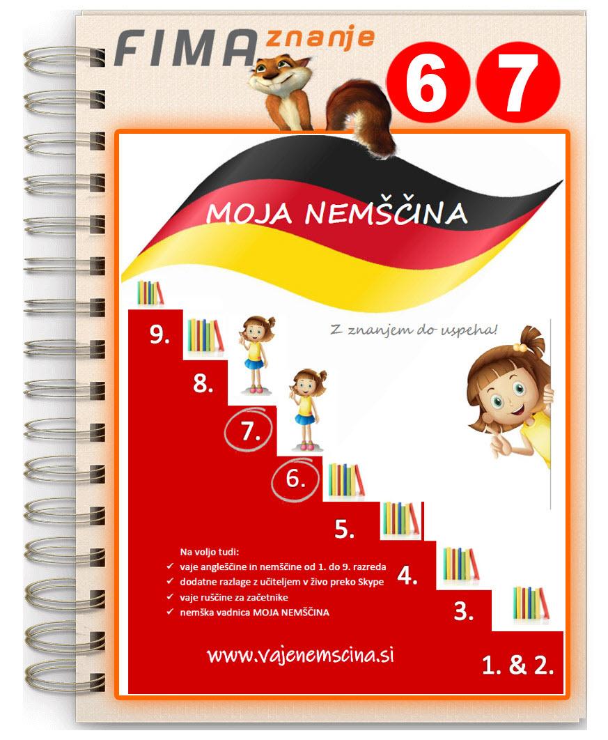 MOJA NEMŠČINA 6 & 7 -  (PDF)