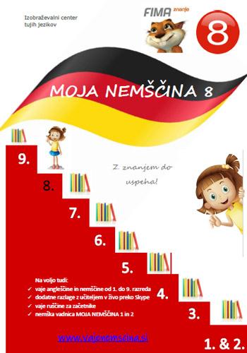 MOJA NEMŠČINA 8 -  (PDF)